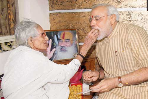 pm_Modi_mother